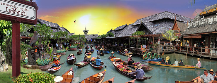 Pattaya Floating Markets