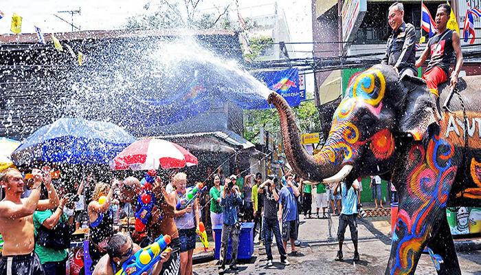 جشنواره آب تایلند
