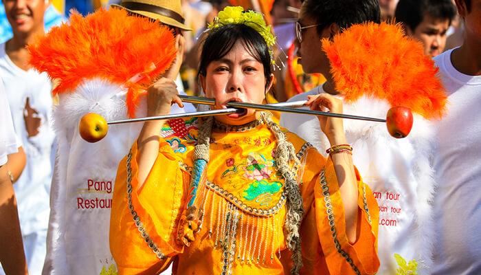 جشنواره گیاهخواری تایلند