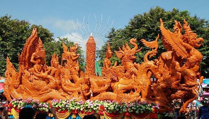 جشنواره شمع در تایلند