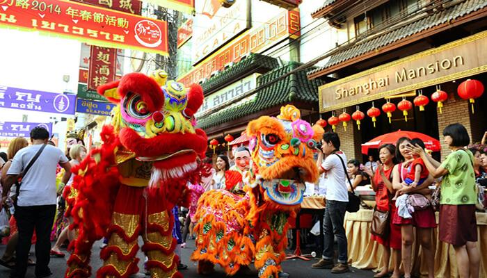 جشن سال نو چینی در تایلند