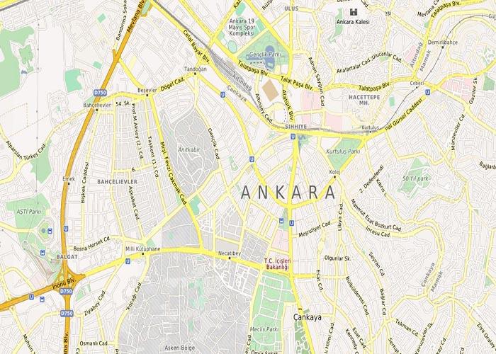 نقشه-شهر-آنکارا