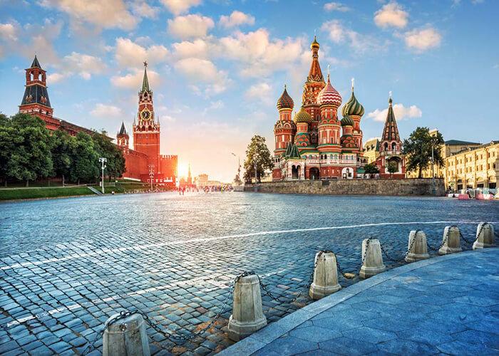 مسکو پایتخت و پر جمعیت ترین شهر روسیه