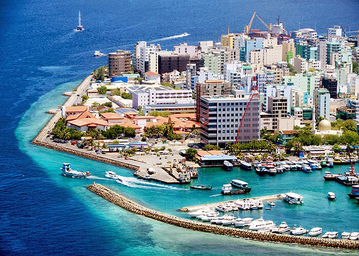 جزیره ماله در مالدیو