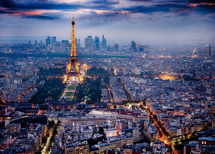 معرفی شهر پاریس همراه با عکس | تاریخچه ، نقشه شهر