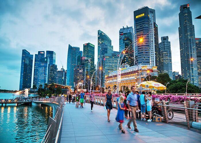 معرفی شهر سنگاپور به همراه نقشه و تصاویر