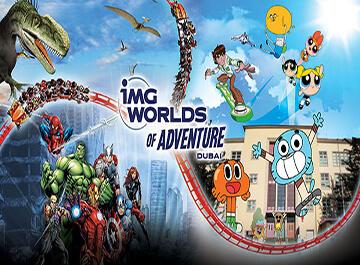 معرفی شهربازی دبی ( IMG Worlds )