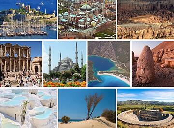 آشنایی با مناطق گردشگری ترکیه