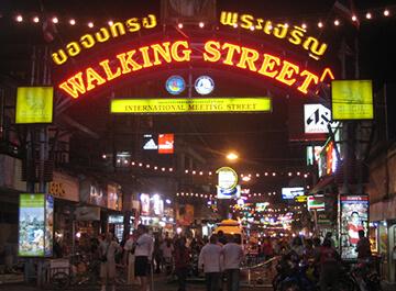 واکینگ استریت پاتایا Walking Street