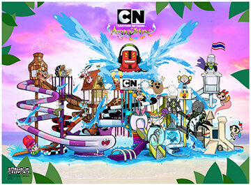 پارک آبی پاتایا ( Cartoon Network Amazone )