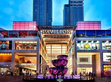 مرکز خرید پاویلیون ( Pavilion Kuala Lumpur )