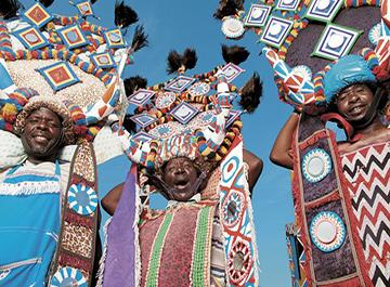 فرهنگ و آداب و رسوم مردم آفریقای جنوبی