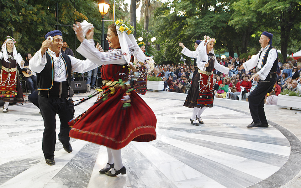 فرهنگ و آداب و رسوم مردم یونان