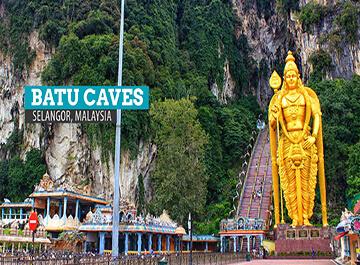 غار باتو کیو کوالالامپور ( Batu Cave )