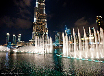 آبنما دبی ( dubai fountain )