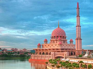 مسجد پوترا مالزي ( Putra Mosque )