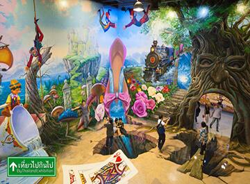 گالری هنر در بهشت تایلند ( art in paradise )