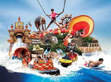 پارک آبی سان وی ( sunway lagoon )