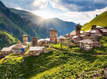 آشنایی با مناطق گردشگری گرجستان