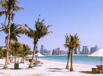 پارک ساحلی الممرز دبی ( Al Mamzar Beach Park )