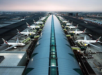 فرودگاه بین المللی دبی ( DXB )