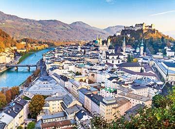 معرفی شهر های اتریش