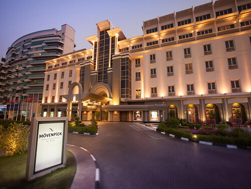 هتل Movenpick Hotel Apartments